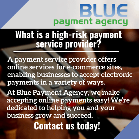 What is a high-risk payment service provider_ - Blue Payment Agency - Quote Image